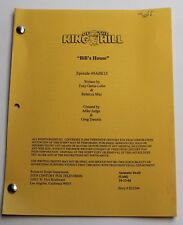 King of the Hill * 2004 Original TV Show Script * Season 10, Episode 3