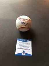 Bill Murray signed Official MLB Baseball Beckett COA BAS Ghostbusters Caddyshack