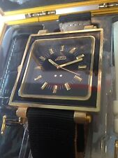 Flud Rivington (Gold & Black) Watch With 3 Different Bands Brand New In The Box