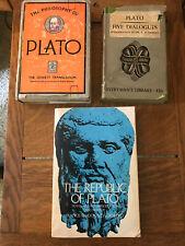 Plato Lot 3 Books
