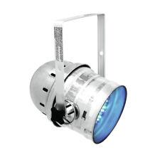 Eurolite LED PAR 64 RGB 10mm Short Silver Par Can Light Stage Theatre DMX
