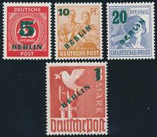 BERLIN, MiNr. 64-67, tadellos postfrisch, gepr. Schlegel, Mi. 250,-