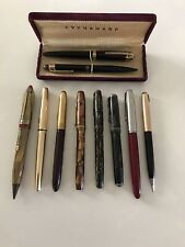 Lot Of 8 Fountain Pens