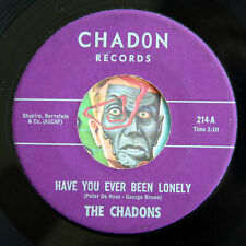HEAR Chadons 45 Have You Ever Been Lonely/Midnight Prayer NM teen Chad Allen