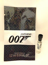 JAMES BOND 007 1.2ml - 0.04oz EDT Eau De Toilette Splash Sample Vial NEW (C19