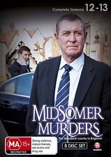 Midsomer Murders Season 12-13 Box Set NEW R4 DVD