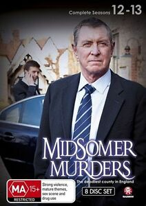 Midsomer Murders : Season 12-13 (DVD, 8-Disc Set) new sealed + special features