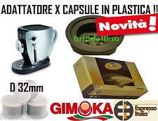 ADATTATORE TAZZISSIMA TRIO BIALETTI + 150 CAPSULE PLASTICA ORZO ESPRESSO ITALIA