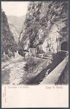 BRESCIA TOSCOLANO MADERNO 04 LAGO di GARDA Cartolina viaggiata 1902