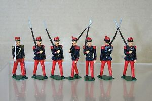 REPLICA MODELS PATRICK CAMPBELL CRIMEAN WAR FRENCH LINE INFANTRY x 7 mv