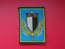 N°102 insigne militaire armée écusson patch badge régiment french army