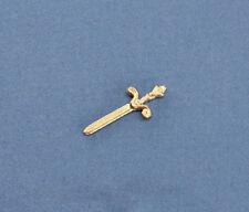 1/12 Scale: Dollhouse Miniature Fancy Letter Opener/Small Sword #JLM134