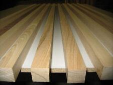 10 x Eschen Leisten 23x23x1020mm  (€2,54/m) Sockelleiste Vierkant gehobelt TOP !