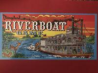 Disney Disneyland Riverboat Game Vintage Style Collectible Nostalgia