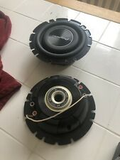 "PIONEER TS-A2000LD2 SHALLOW-MOUNT 8"" SUBWOOFER WITH DUAL 2-OHM VOICE COILS"