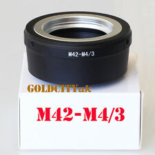 M42 Lens Adapter to Micro Four Thirds M4/3 for EP1 EP2 EPL1 GF1 GF2 G1 M42-M4/3
