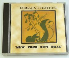 Lorraine Feather - New York City Drag - CD - Fats Waller