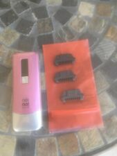 No No Hair Removal Device with 3 Blades - PINK