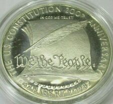 """1987 S """"We The People"""" 200th Anniversary U.S. Constitution Silver Coin #901"""