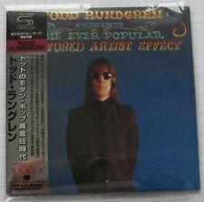 Todd Rundgren-The ever popular TORTURED Japon SHM MINI LP CD Nouveau! VICP - 70069