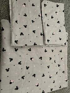 reversible double duvet cover set Minnie Mouse