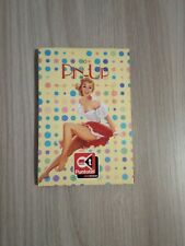 SCHEDE TELEFONICHE USATE CON TRIANGOLO  ►PIN UP◄ + FOLDER
