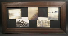 Antique Art Crafts Mission Soot Finish Picture Frame Niagara Falls 5 Pics 7~17