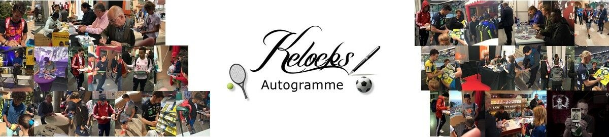 Kelocks-Autogramme