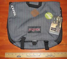 Jansport Laptop Bag Crossbody Messenger Style GRAY + RED NEW with Tags