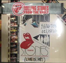 The Rolling Stones – Hampton Coliseum (Live In 1981) 3LP Set + DVD