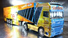 * Herpa 120975 DAF XF SSC Box Semitrailer Sunline PC 1:87 Scale HO