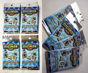 1X DIGIMON DIGI-BATTLE CARD GAME BOOSTER PACK SERIES 1 BANDAI NEW SEALED !