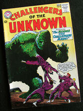 CHALLENGERS OF THE UNKNOWN 38 (1964) WWII JAPANESE SOLDIERS! PLUS THE OOZE! VG+