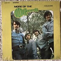 "THE MONKEES: ""MORE OF THE MONKEES"" Vinyl Record Lp (Colgems) Original"