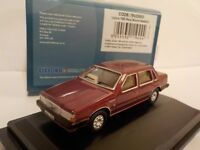 Volvo 760 - Red, Model Cars, Oxford Diecast