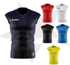 maglia maglietta tecnica smanicata zeus fisiko palestra fitness running sport