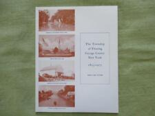 Genealogy The Township of Fleming Cayuga County New York 1823-1973 Rare