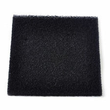 2pcs Black activated carbon filtration Foam Sponge Air Filter Pad Square 13X13cm