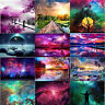 5D DIY Full Drill Diamond Painting Starry View Cross Stitch Embroidery Mosaic