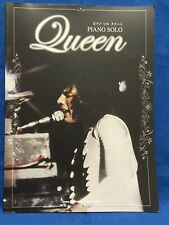 Queen Piano Solo Sheet Music Japan Score Book Freddie Mercury