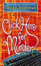 Click Here for Murder (A Turing Hopper Mystery), Andrews, Donna, 0425195295, Boo