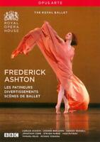 FREDERICK ASHTON: LES PATINEURS/DIVERTISSEMENTS/SCENES DE BALLET NEW DVD