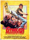 Affiche 40x60cm GYMKATA - LE PARCOURS DE LA MORT 1985 Kurt Thomas, Tetchie Agbay