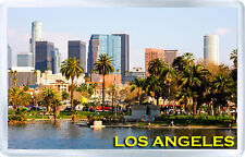 LOS ANGELES CALIFORNIA USA FRIDGE MAGNET SOUVENIR IMAN NEVERA