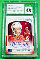 2019 Gridiron Kings Kyler Murray Rookie AUTO /49 CSG 9.5 Auto 9 🏦 Comp to PSA