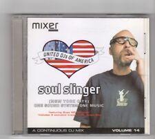 (HW486) United DJs Of America, Soul Slinger Vol 14 - 2000 CD