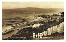 Nostalgia Postcard Exmouth from Cliff Slopes, Devon c1920 Reproduction Card NS45