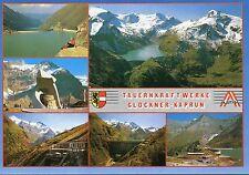 Alte Postkarte - Tauernkraftwerke Glockner-Kaprun