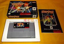 WARPSPEED Super Nintendo Snes Warp Speed Versione NTSC Americana ○ COMPLETO