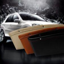 Black Car Seat Seam Pouch Bag Storage Organizer For Phone Coin Stuff Accessories